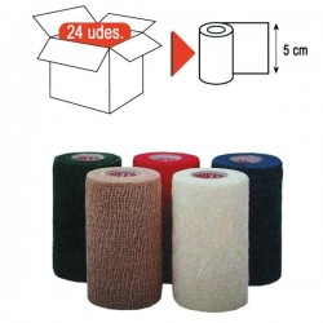 Cohesive elastic bandage