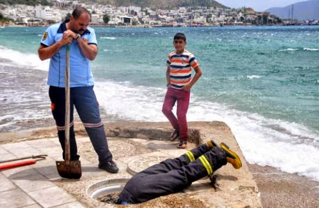 bomberos de Turquía