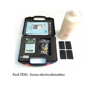 TENS Pack dogs. Home Electrostimulation