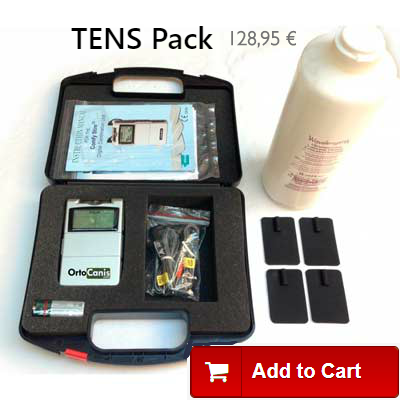 TENS Pack for elbow dysplasia