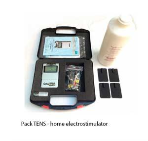 Pack TENS. Electroterapia doméstica.
