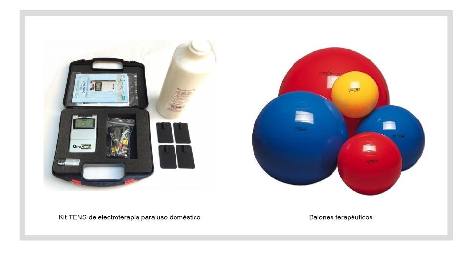 Kit TENS y balones