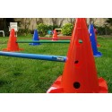 rehabilitation cones with holes