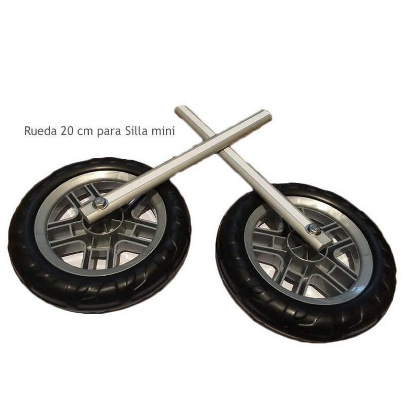 Ruedas especiales silla mini