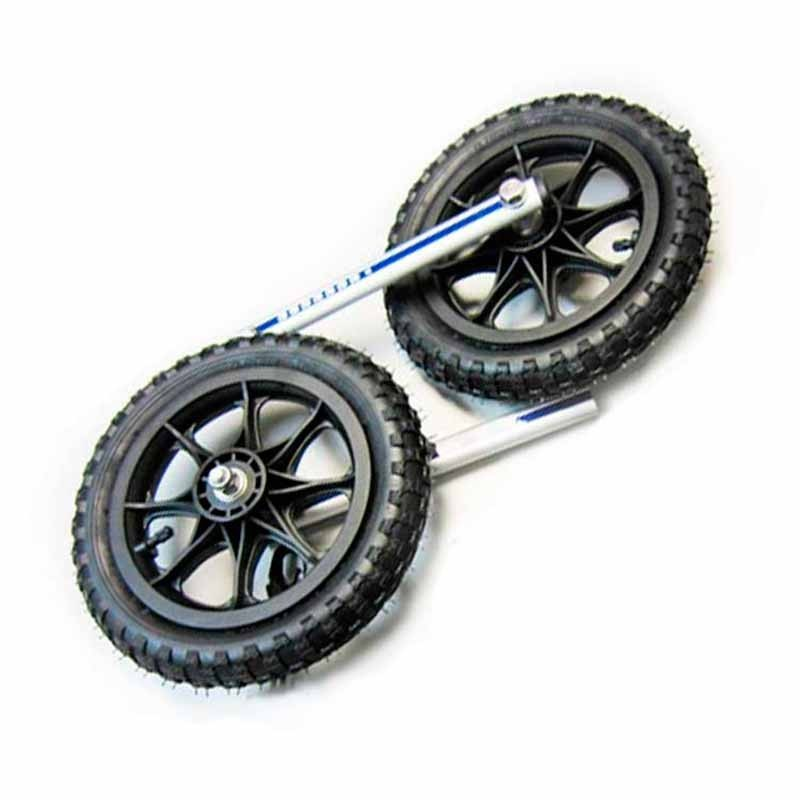 Wheelchair pneumatic wheels