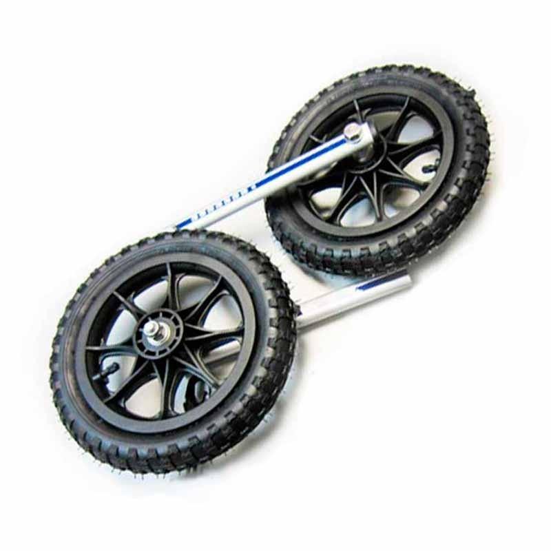 Roues pneumatiques pour fauteuil roulant pour chien handicapé