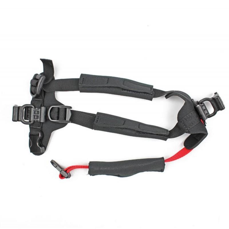 Additional harness wheelchair