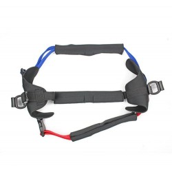 Additional harness wheelchair