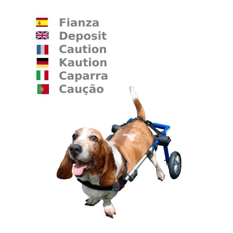 Caution location chariot roulant
