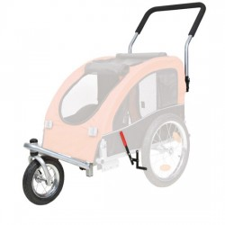 Kit de conversão de trailer para cães deficientes físicos para bicicleta em manual