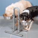 Comedero para perro con altura regulable