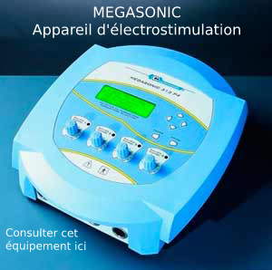 Megasonic appareil d'électrostimulation